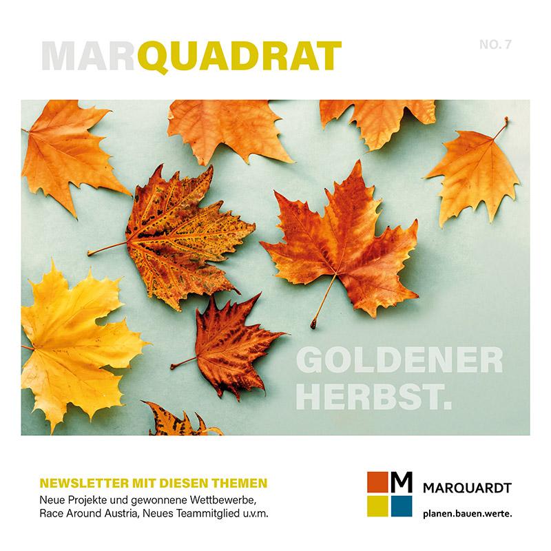 marquadrat newsletter nummer 7