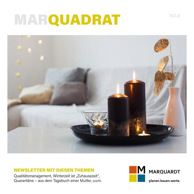 Marquadrat Newsletter Nummer 8